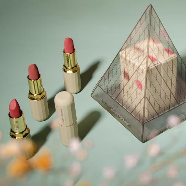 舒芙蕾奶油絲絨唇膏禮盒